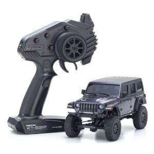 Kyosho Mini-Z 4X4 MX-01 Jeep Wrangler Rubicon Granite Metallic (KT531P)