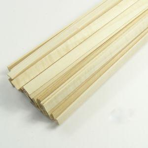 jWood Listello tiglio rettangolare 1,5x3x1000 mm
