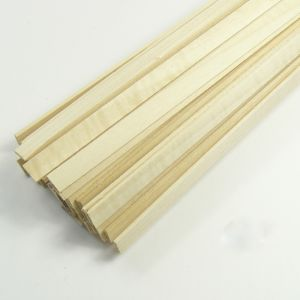 jWood Listello tiglio rettangolare 1,5x8x1000 mm