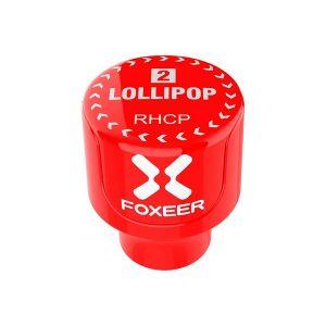 Foxeer Antenna Lollipop V2 Stubby 5.8ghz RHCP SMA Red