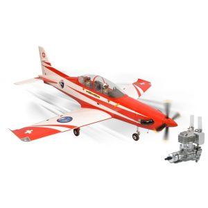 Phoenix Model PC21 Pilatus GP/EP 15-20cc + carrelli elettrici Aeromodello riproduzione COMBO