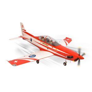 Phoenix Model PC21 Pilatus GP/EP 15-20cc + carrelli elettrici Aeromodello riproduzione