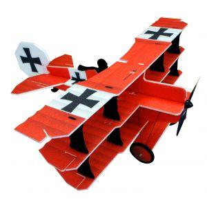 RC Factory Crack FOKKER Dr.1 Barone Rosso - Aeromodello acrobatico