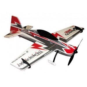 RC Factory Sbach EPP 0.80m Black/Red(Backyard Series) Aeromodello acrobatico
