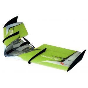 RC Factory Zorro Wing Verde Aeromodello tuttala elettrico