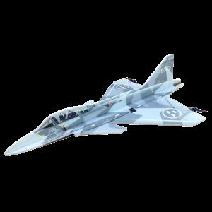 RC Factory Gripen (grigio) Aeromodello acrobatico