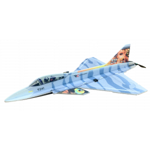 RC Factory Gripen (blu) Aeromodello acrobatico