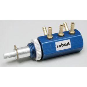 Robart Valvola aria meccanica doppio effetto 5 porte