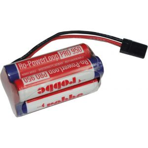 Robbe Batteria RX Ro-Power Loop 950 mAh Nimh 4,8V spina JR a cubo