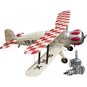 Seagull BÜCKER BÜ-133 Jungmeister + DLE 20 Aeromodello riproduzione