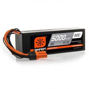 Spektrum Batteria Lipo 3S 5000mAh 50C HARDCASE Smart IC5