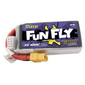 Tattu by Gens ACE Batteria LiPo 3S 1300 mAh 100C FUNFLY - XT60