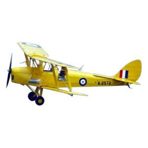 VQ Model Tiger Moth (giallo) / 1400 mm Aeromodello riproduzione
