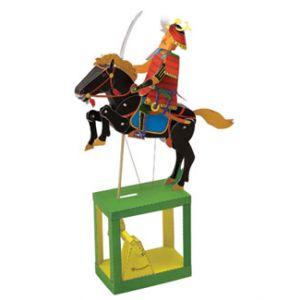 Jonathan Automata Samurai cartoncino da montare