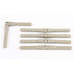 aXes Cerniere a perno 2,5x48mm (5 pz)