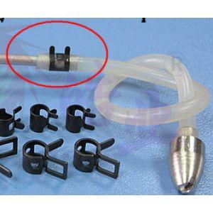 aXes 6mm metal fuel clip (5pcs)