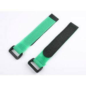 aXes Fascette velcro 20x200mm (2 pz) verde