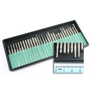 aXes Set of fine milling cutter (30pcs)