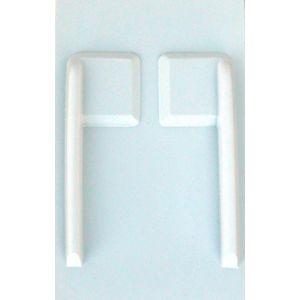 Jonathan Copri servo sezione quadrata 45x45 - 2 pz