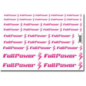 FullPower Foglio decals 150x210 mm 31 loghi FullPower