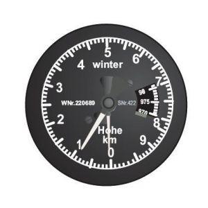Jonathan Strumento Altimetro analogico 16mm - scala 1:5