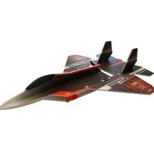 RC Factory F-22 Raptor / 730 mm Aeromodello acrobatico