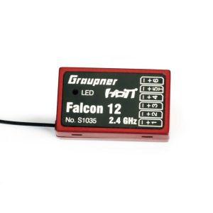 Graupner SJ Falcon 12 3xG Gyro HoTT Ricevente 6CH