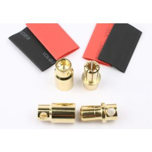 FullPower 8.0mm gold connector 2 sets