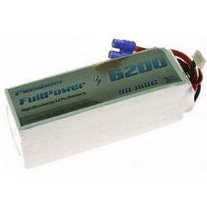 FullPower Batteria Lipo 6S 6200 mAh 90C PLATINUM - EC5