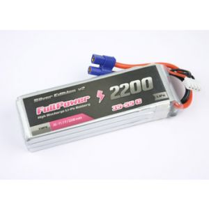 FullPower Batteria Lipo 4S 2200 mAh 35C Silver V2 - EC3