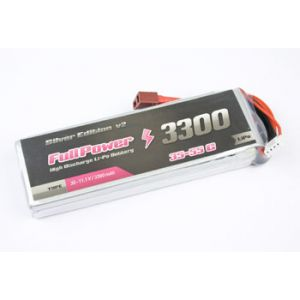 FullPower Batteria Lipo 2S 3300 mAh 35C Silver V2 - DEANS