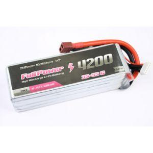 FullPower Batteria Lipo 6S 4200 mAh 35C Silver V2 - DEANS