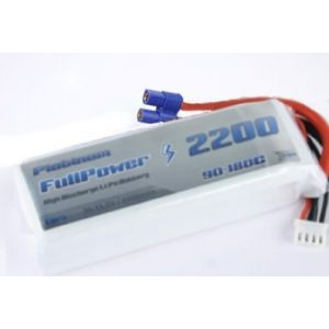 FullPower Batteria Lipo 4S 2200 mAh 90C PLATINUM - EC3