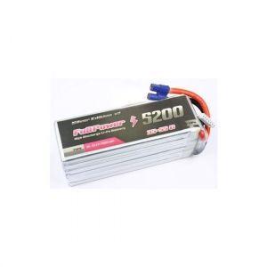 FullPower Batteria Lipo 3S 5200 mAh 35C Silver V2 - EC5