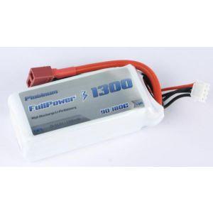 FullPower Batteria Lipo 3S 1300 mAh 90C PLATINUM - DEANS