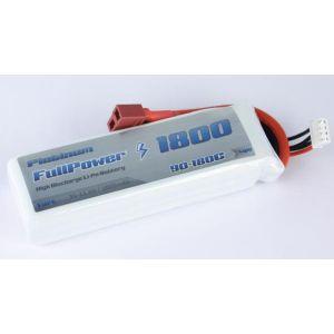 FullPower Batteria Lipo 3S 1800 mAh 90C PLATINUM - DEANS
