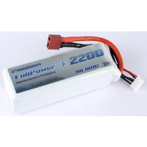 FullPower Batteria Lipo 4S 2200 mAh 90C PLATINUM - DEANS