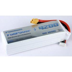 FullPower Batteria Lipo 5S 4200 mAh 90C PLATINUM - XT60