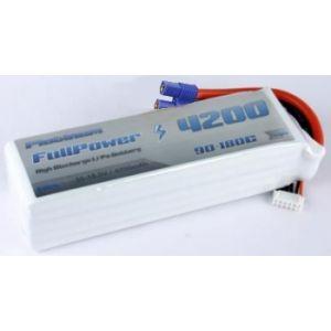 FullPower Batteria Lipo 6S 4200 mAh 90C PLATINUM - EC5