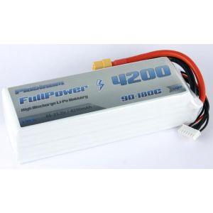 FullPower Batteria Lipo 6S 4200 mAh 90C PLATINUM - XT90