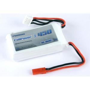 FullPower Batteria Lipo 3S 450 mAh 90C PLATINUM - BEC