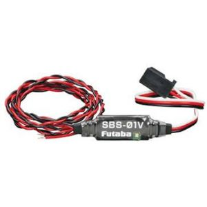 Futaba Sensore telemetrico SBS-01V tensione batteria extra