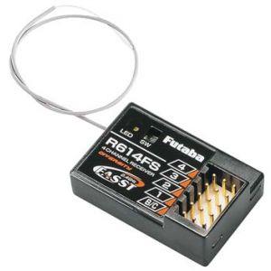Futaba R614 FS 2.4 Ghz FASST C2 Ricevente
