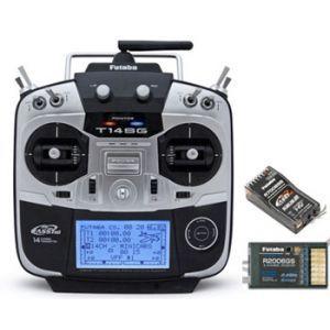 Futaba 14SG 2,4GHZ HX MODE2 + R7008SB + R2006GS Radiocomando