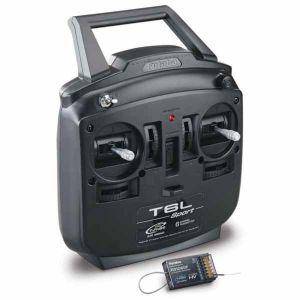 Futaba 6L 2.4Ghz T-FHSS Mode1 + rx R3106FG Radiocomando