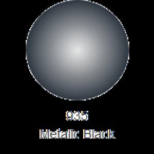 RC Colours Lexan spray 150 ml nero metalizzato 935