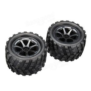WL toys High speed Truggy 2WD - Coppia gomme posteriori