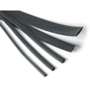 Robbe Guaina termoretraibile nera 7 mm x 100 cm
