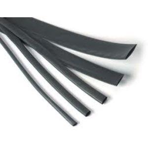Robbe Guaina termoretraibile nera 6 mm x 100 cm