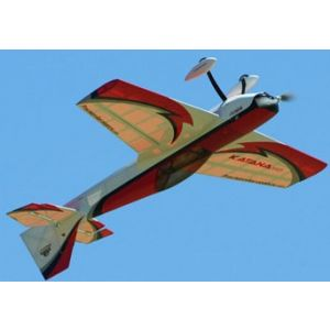 Precision Aerobatics Capottina trasparente + supporto rosso Katana MD